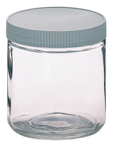 glass jar magnified lid