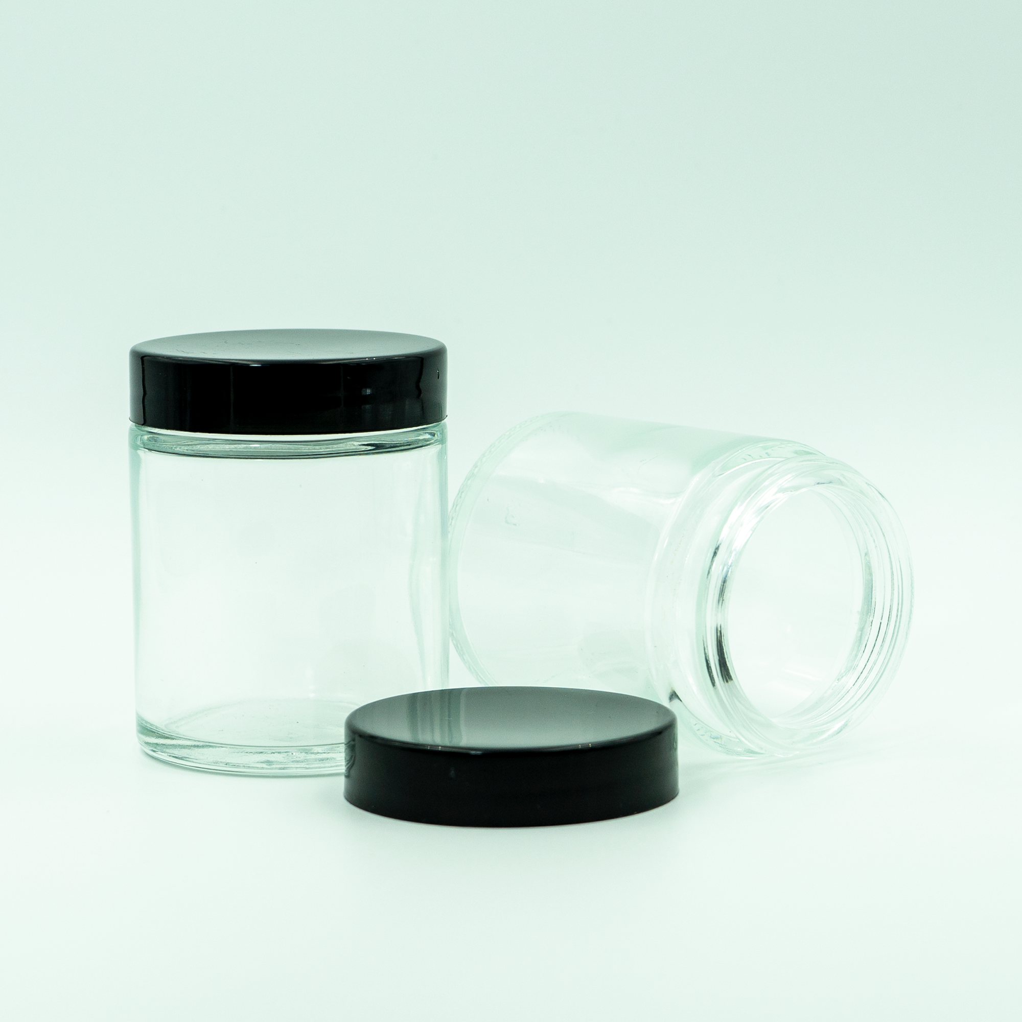 2oz. (3.5 Gram) Glass Jar