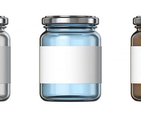 Cannabiz Supply Jar Labelling