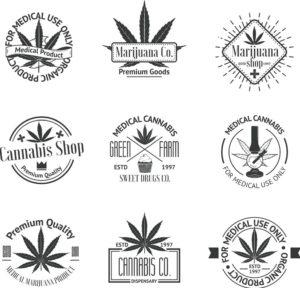 marijuana dispensary logos