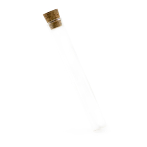 116mm Glass Cork Top Preroll Tube